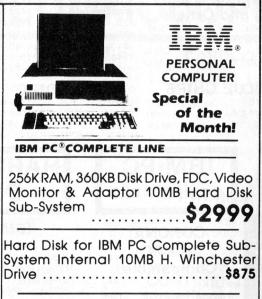 IBM PC ad from 1984