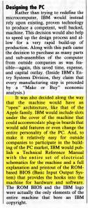 1984 Apple's Open Architecture