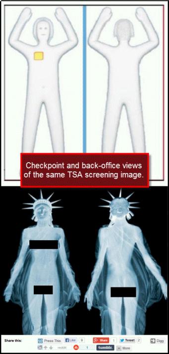 TSA Image comparison