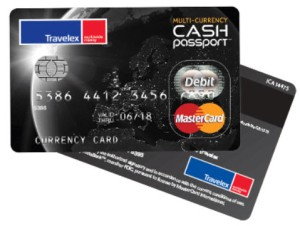 Travelex Cash Passport card